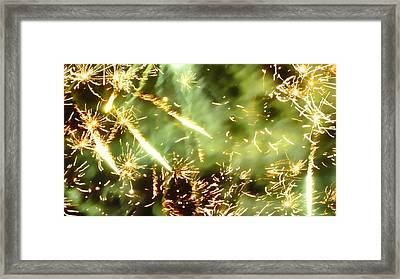 Chemistry Framed Print by Sharon Lisa Clarke
