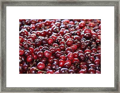 Cherry Framed Print by Francois Cartier