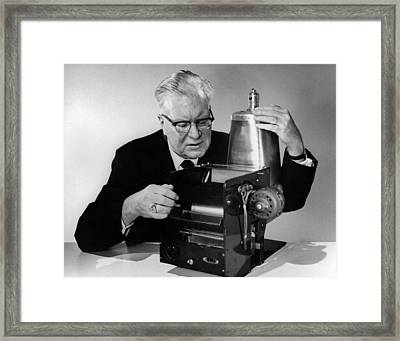 Chester Carlson 1906-1968 Framed Print by Everett