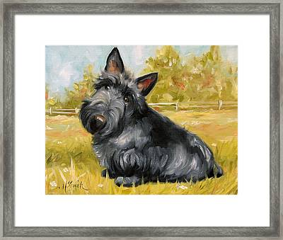 Chester Framed Print by Mary Sparrow