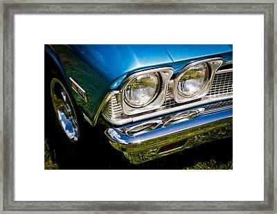 Chevelle Lights Framed Print by Phil 'motography' Clark