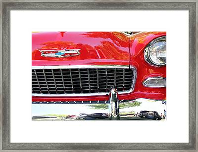 Chevrolet Bel-air - 5d16438 Framed Print by Wingsdomain Art and Photography