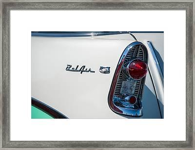 Chevrolet Belair Framed Print by Gary Rose