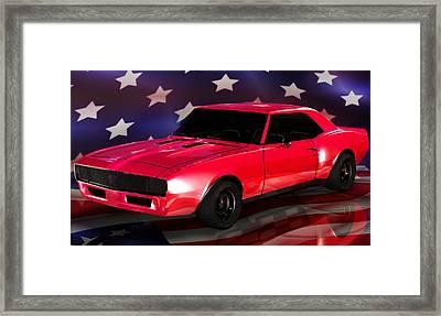Chevy Camaro Intimidator Framed Print by Robert Matson