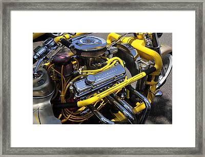 Chevy Motorcycle Framed Print by David Lee Thompson