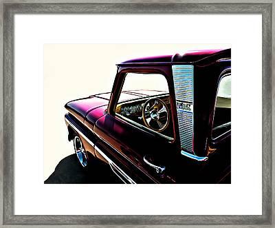 Chevy Pickup Framed Print by Douglas Pittman