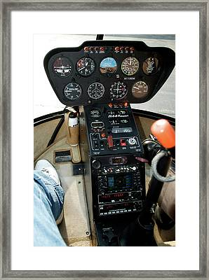 Chicago Airplanes 06 Framed Print by Thomas Woolworth