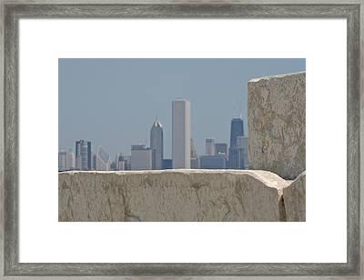 Chicago Framed Print by Odd Jeppesen