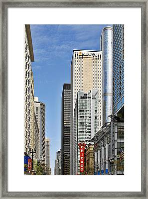 Chicago State Street - That Great Street Framed Print by Christine Till