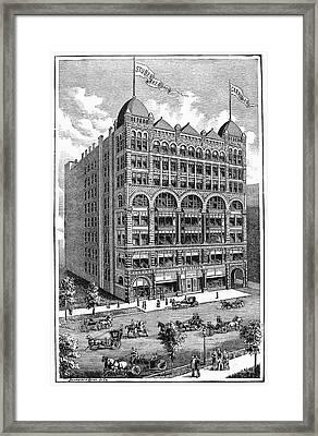 Chicago: Studebaker Bros Framed Print by Granger