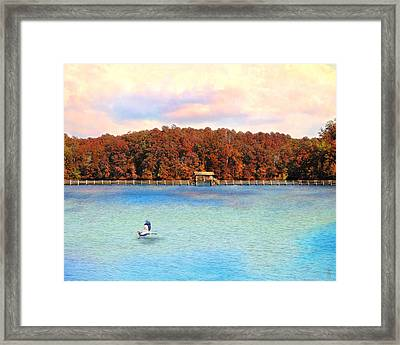 Chickasaw Bridge Framed Print by Jai Johnson