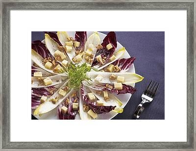 Chicory Salad Framed Print by Joana Kruse