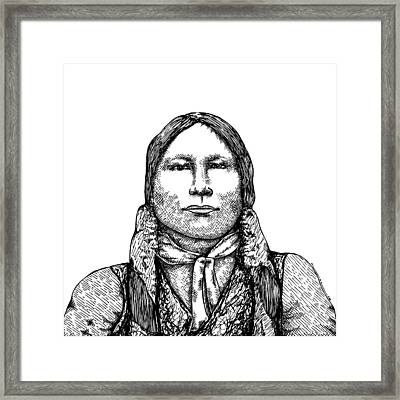 Chief Gall Framed Print by Karl Addison