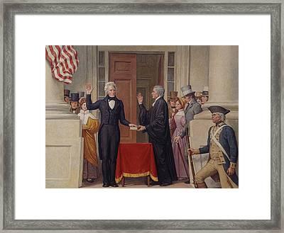 Chief Justice John Marshall 1755-1835 Framed Print by Everett