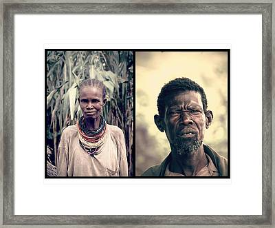 Chief Of The Tribe Framed Print by Marian Barbu