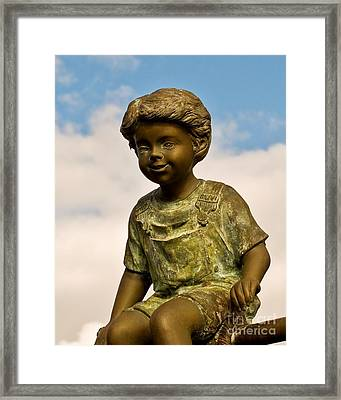 Child In The Clouds Framed Print by Al Powell Photography USA