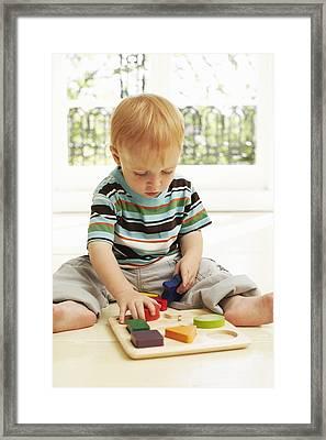 Childhood Development Framed Print by Ian Boddy