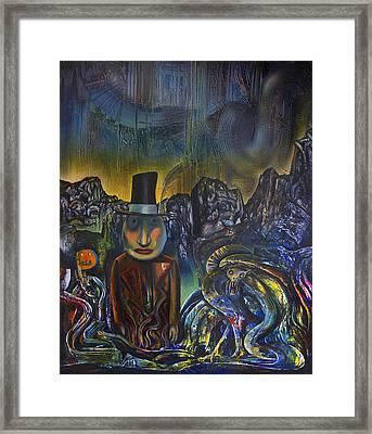 Childhood Monsters Framed Print by Fernando Alvarez