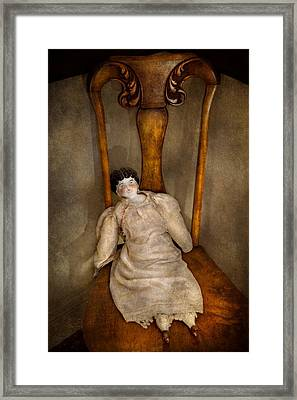 Children - Toy - Her Royal Highness  Framed Print by Mike Savad