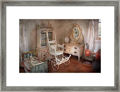 Children - Toy - Things You Find In A Girls Room Framed Print by Mike Savad