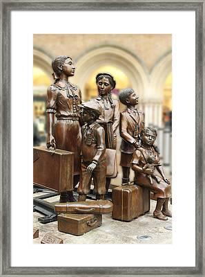 Children In War 2 Framed Print by Stefan Kuhn