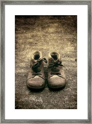 Children's Shoes Framed Print by Joana Kruse