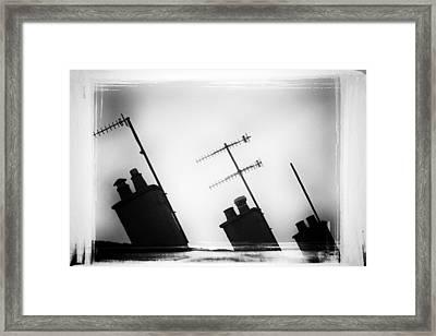 Chimneys Framed Print by David Ridley