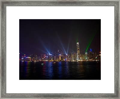 China-hong Kong Framed Print by Mark Simons Photography