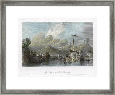 China: Mountains, 1843 Framed Print by Granger