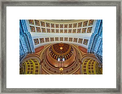 Chiseled Framed Print by Dan Mihai