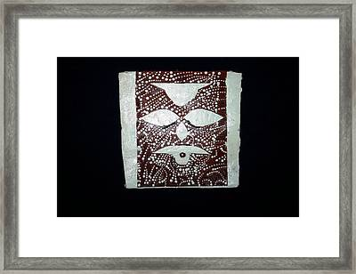 Christ - Cristu Framed Print by Gloria Ssali