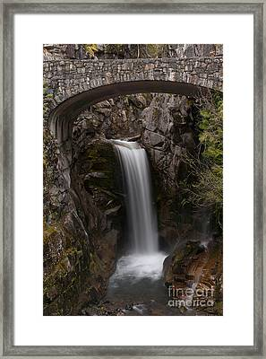 Christine Falls Serenity Framed Print by Mike Reid