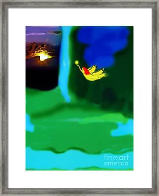 Christmas Angel Framed Print by Madeline Ellis