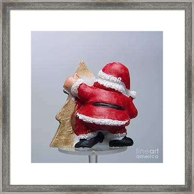 Christmas Decoration  Framed Print by Bernard Jaubert