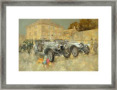Christmas Ghosts At The Hunt House Framed Print by Peter Miller