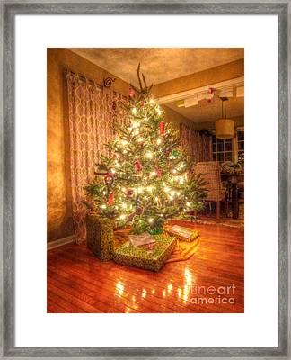 Christmas Glow Framed Print by Michael Garyet