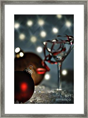 Christmas Party Framed Print by HD Connelly