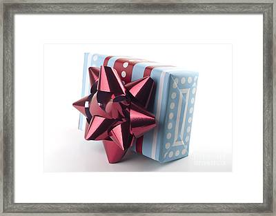 Christmas Present Framed Print by Blink Images