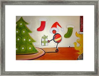 Christmas Spirit Framed Print by Cory Green