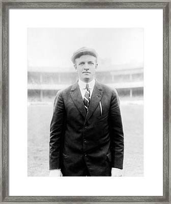 Christy Mathewson - Major League Baseball Player Framed Print by International  Images