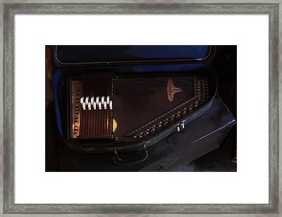 Chroma Harp Framed Print by Viktor Savchenko