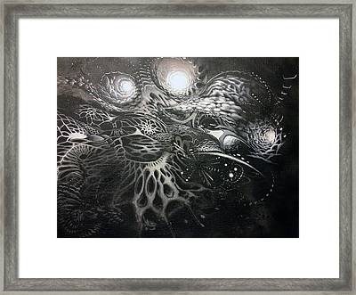 Chromanaught Framed Print by Adam Carsons
