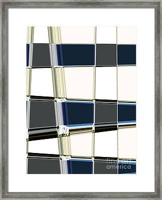 Chrome Framed Print by Lj Lambert