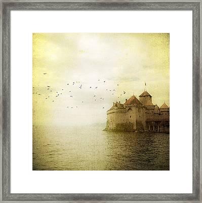 Château De Chillon Framed Print by Tom