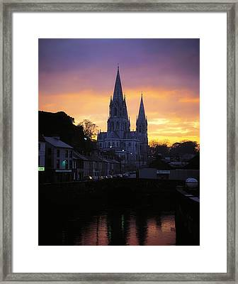 Church In A Town, Ireland Framed Print by The Irish Image Collection