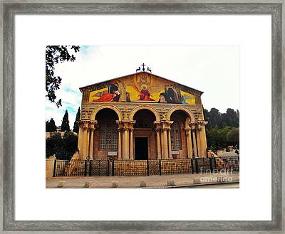 Church Of All Nations  Framed Print by Robin Coaker
