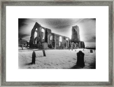 Church Of St Andrew Framed Print by Simon Marsden