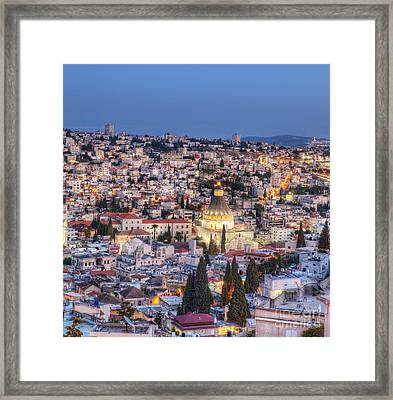 Church Of The Annunciation Framed Print by Noam Armonn
