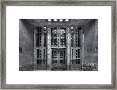 Church Street Post Office II Framed Print by Clarence Holmes