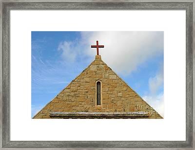 Church Top Framed Print by Henrik Lehnerer